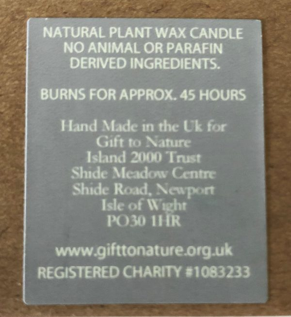 Natural Plant Wax Candle (5 Different Scents)